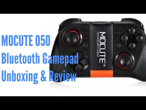 MOCUTE 050 bluetooth gamepad - Unboxing and Review