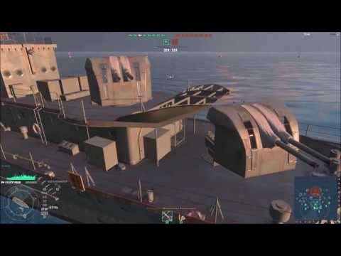 El disparo más destructivo/#1/World of warships