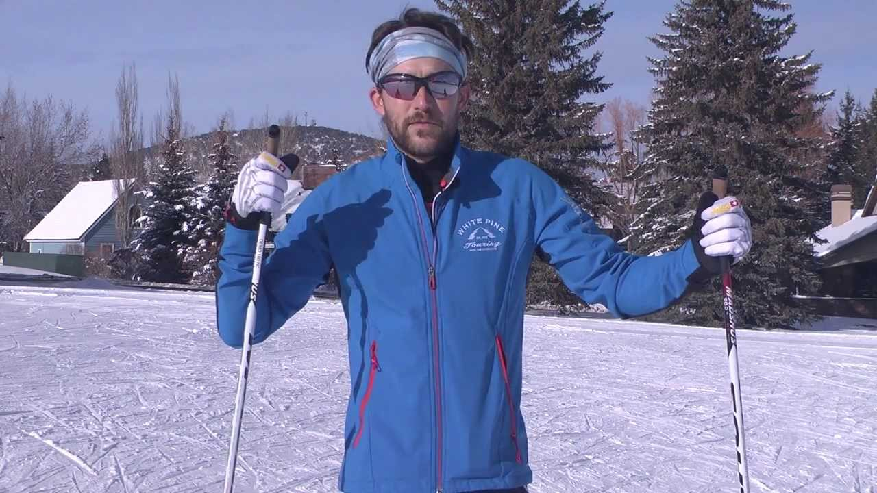 Touring Skiing Technique