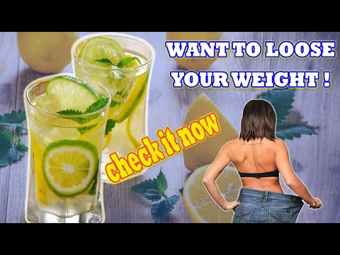 How To Lose Weight Fast Without Exercise Or Diet || Benefits Of Lemon Water For Health