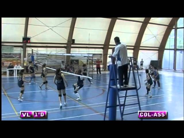 Colonnetta vs Assport Roma 3 Piva - 3° Set