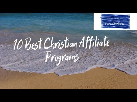 10 Best Christian Affiliate Programs
