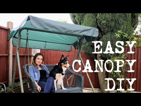 How to Make a Swing Chair Canopy | The Carpenter's Daughter
