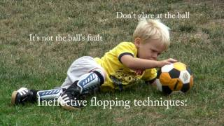 How to dive like Cristiano Ronaldo (Tutorial by a 2-year old)