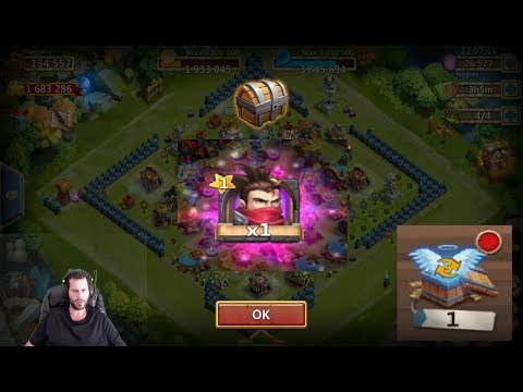 Rolling 25k Gems SICK Ronin Pack On Android BazaaR Castle Clash