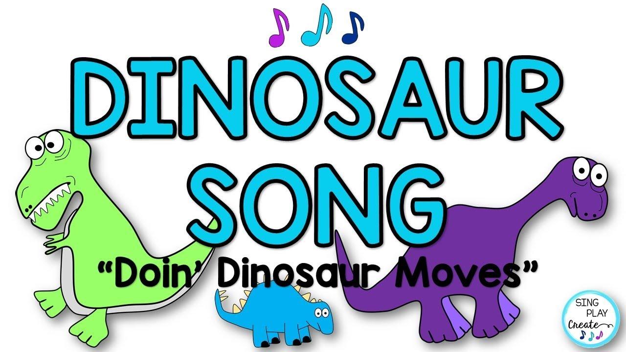 Kids Action Song Dinosaur Movement Doin Dinosaur Moves Preschool Music And Movement Brain Break Youtube