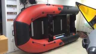 Лоцман М-350. Видеообзор моторной ПВХ лодки Уфимского производства.