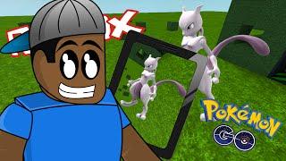 Roblox / CATCHING MEWTWO! - Pokemon Go / Roblox Adventures DanTDM