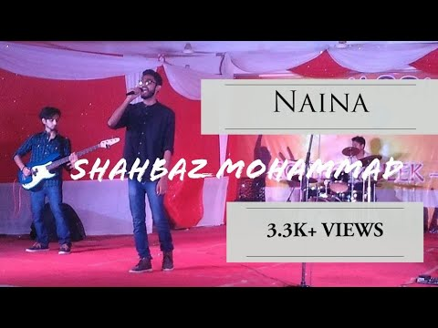 Naina Cover Live | Dangal | Arijit Singh | Feat. Bibhu | Aamir Khan | Unplugged | Acoustic