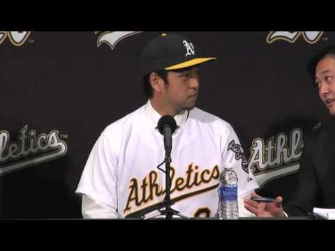 """Hiroyuki Nakajima Calls Billy Beane """"Sexy and Cool"""""""