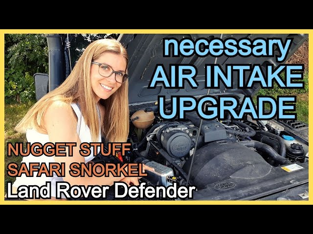 Why & how to SEAL AIR INTAKE SYSTEM | Land Rover Defender | equipment series