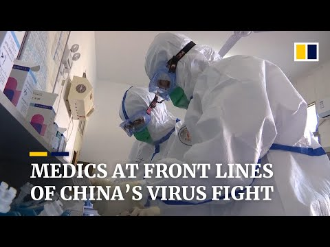 The Chinese medical workers on the front line of the coronavirus fight in Wuhan