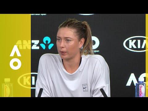 Maria Sharapova press conference (3R) | Australian Open 2018