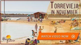 Torrevieja Weather in November