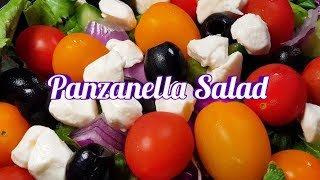 🔴ASMR. Panzanella Salad Mukbang 🥗 Eating Sounds 🥒🍅🧀
