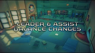 Power Rangers: Legacy Wars - Leader & Assist Balance Changes (2018)