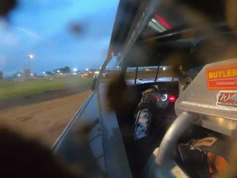 Wes McClara In-Car Paragon Speedway heat race 6-14-19