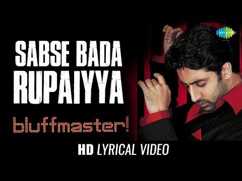 Sabsa Bada Rupaiya | Lyrical | Bluff Master | Mehmood