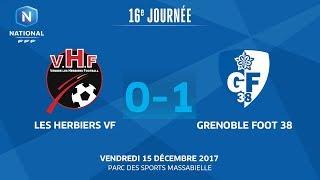 Les Herbiers vs Grenoble full match