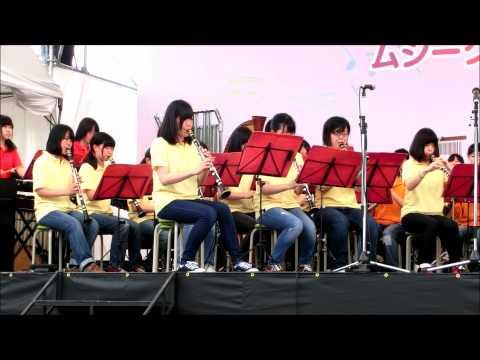 奈良市立一条高校吹奏楽部 ギャロップ