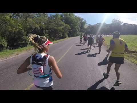 21k Trail run Punta Ballena (22/ene/2017): desde inicio hasta Arboretum
