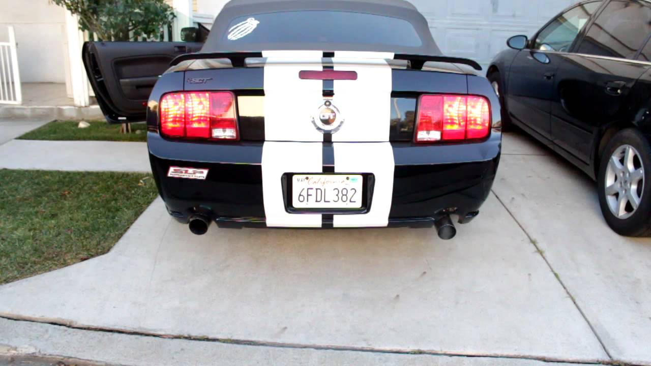 2005 Mustang Gt Slp Loudmouth Axel Back Exhaust Youtube