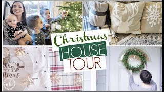 CHRISTMAS HOUSE TOUR 2017 + Decorate With Me! | Simple, Neutral Decor | Natalie Bennett