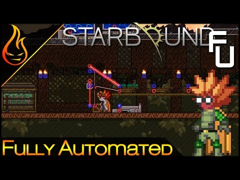 Fully Automated Farming Setup: Starbound 1.3 Frackin Univers
