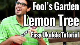 Lemon Tree - Easy Ukulele Tutorial - Fool's Garden Uke Play Along