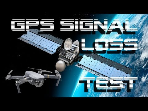 DJI Mavic Pro / Platinum - GPS Signal Loss Test