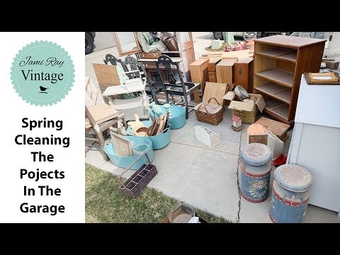 Clean with me | Spring Cleaning The Garage