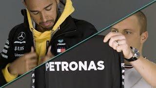 Unboxing 2018 Mercedes F1 Team Kit