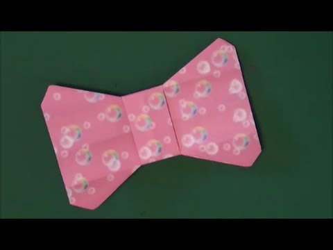 かわいい「リボン」折り紙Lovely ... : 折り紙 かわいい : 折り紙