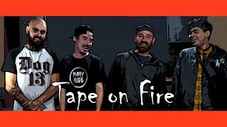 Tape on Fire - Cinzas Atuais, Original Song (Digital Rock BAR music vídeo)
