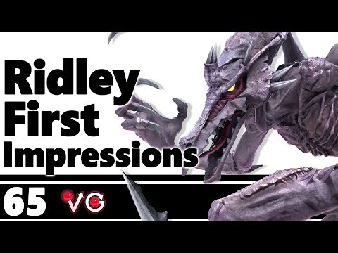 Smash Ultimate - Ridley - First Impressions