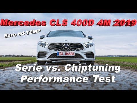 Mercedes CLS 400D 4M 2019 Performance Test - Serie Vs. Chiptuning - Euro 6d-TEMP