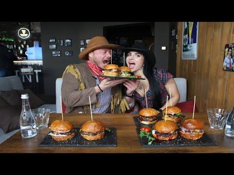 16 БУРГЕРОВ ЗА РАЗ!! Фуд-Челлендж БУРГЕРЫ / Food Challenge BURGERS