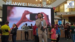 The HUAWEI Mate 20 Series Launch + Roadshow at Pavilion KL