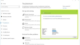 """How to Fix """"An Error Occurred While Troubleshooting"""" In Windows PC"""
