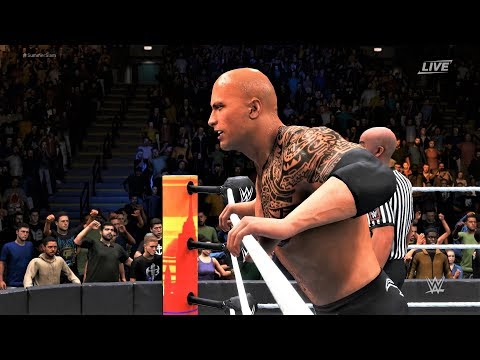 WWE 2K20 - The Rock vs Big Show.