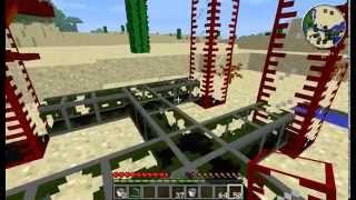 Minecraft Oil Pump - How To Pump Oil (BuildCraft Mod)
