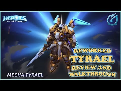 Grubby | Heroes of the Storm - Reworked Tyrael Complete Review and Walkthrough