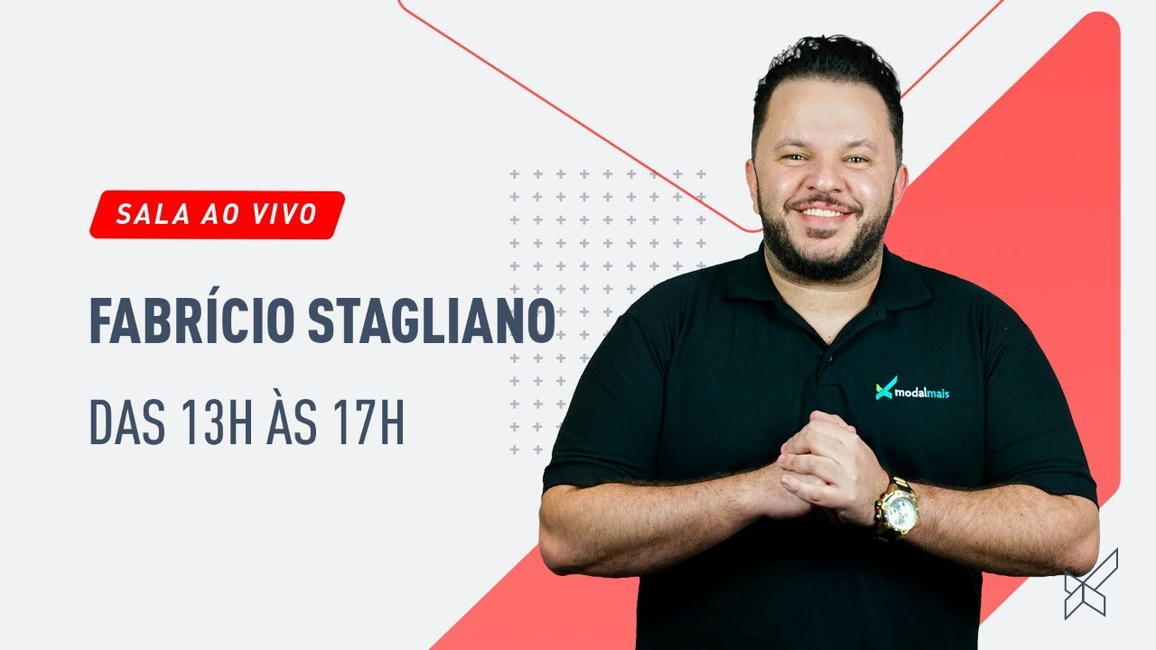 SALA AO VIVO DAY TRADE - FABRICIO STAGLIANO no modalmais 11.08.2020