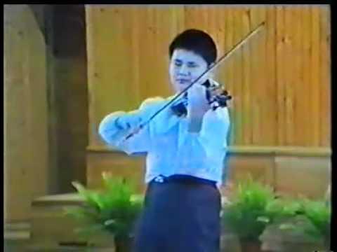 Chuanyun Li  plays Carmen Fantasy in 1991 Wieniawski Competition 2nd[ Full ]