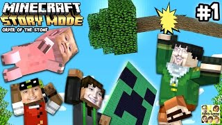 Lets Play Minecraft Story Mode #1: ✉ DEAR MOJANG! ✉ (Episode One: The Order of the Stone)(FGTEEVERS, Duddy tries out the new MINECRAFT Story Mode , Episode One: The Order of the Stone. Not sure if this is really a Youtubeable gameplay., 2015-10-15T12:52:16.000Z)