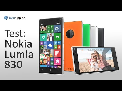 Nokia Lumia 830 | Test deutsch