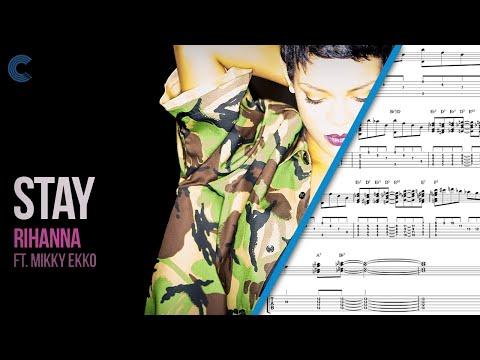 89 Mb Rihanna Stay Piano Sheet Music Free Free Download Mp3