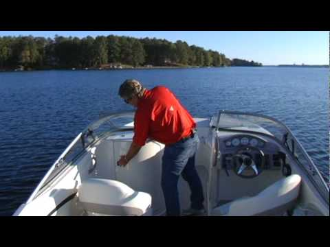 Stingray 235DR Walk-Thru Video by Boating Life Magazine