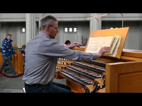 2016-0405 - Hallgrimskirkja (Church of Iceland) Pipe Organ 管風琴 Fugue
