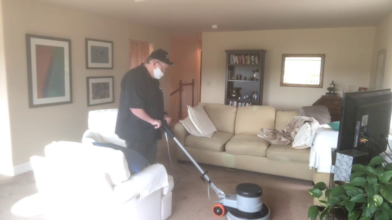 UnBelievable Results ❤️🏆 175 Rotary Carpet Cleaning